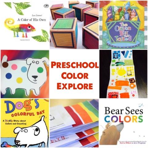 Colors! – preschool books and activities