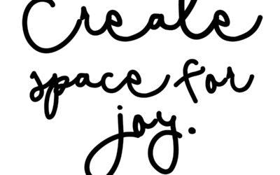 What Brings Me Joy?