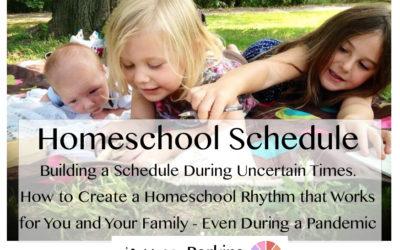 Maintaining a Homeschool Rhythm During a Pandemic